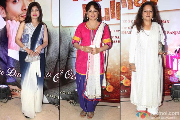 Alka Yagnik, Upasna Singh and Himani Shivpuri at trailer launch of wedding pullav