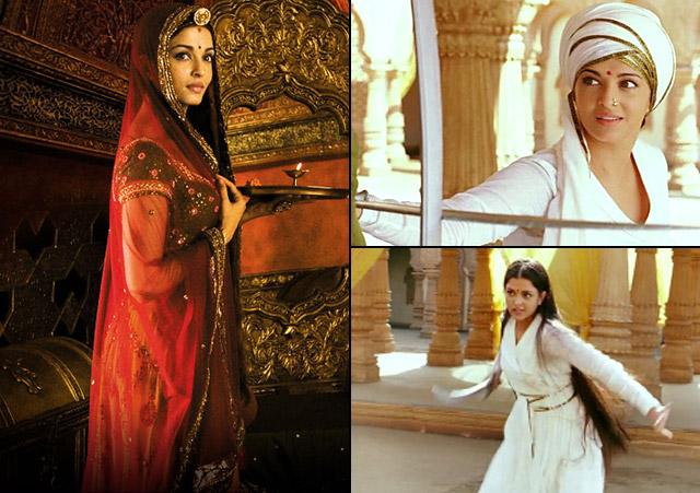 Aishwarya Rai Bachchan as Jodhaa Bai in Jodhaa Akbar