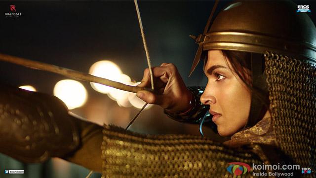 Deepika Padukone as Mastani in Bajirao Mastani