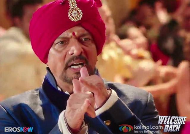 Nana Patekar in 'Welcome Back' Movie Stills Pic 1