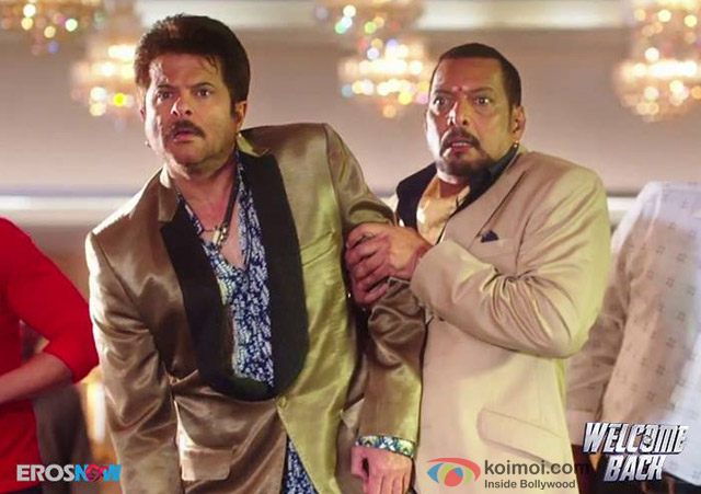 Anil Kapoor and Nana Patekar in 'Welcome Back' Movie Stills Pic 1