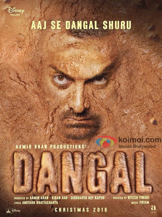 Aamir Khan in a still from 'Dangal' movie poster