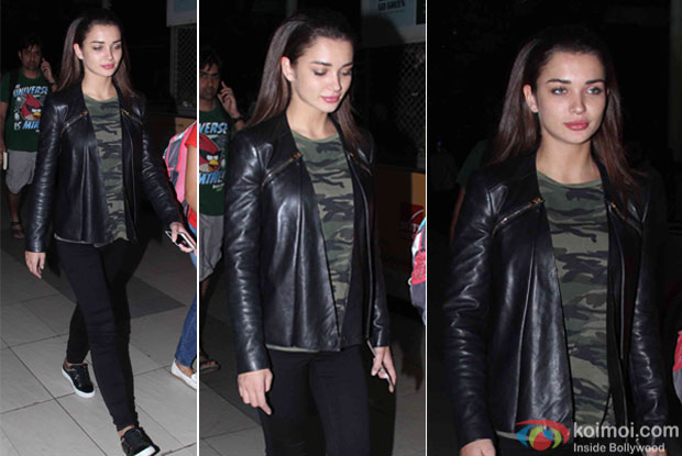 Amy Jackson Spotted at airport