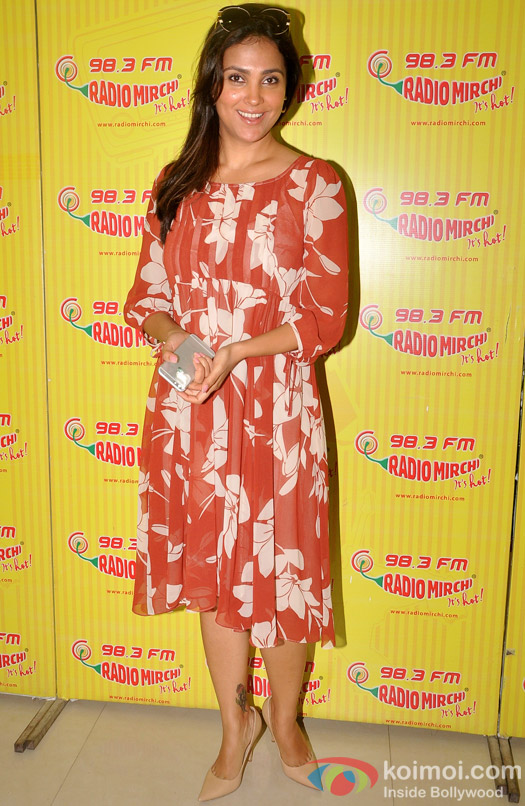 Lara Dutta Promoting Singh is Bling At Radio Mirchi