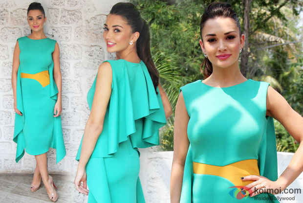 Amy Jackson Attends The Femina Shopping Festival