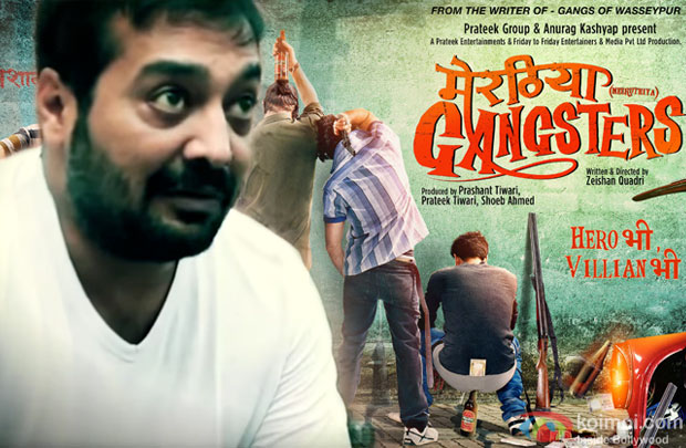 Anurag Kashyap on Meeruthiya Gangsters directed by Zeishan Quadri