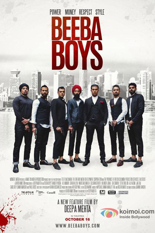 Randeep Hooda in a still from 'Beeba Boys' movie poster