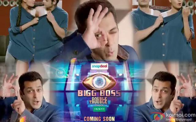 Salman Khan in a 'Bigg Boss 9' Promo