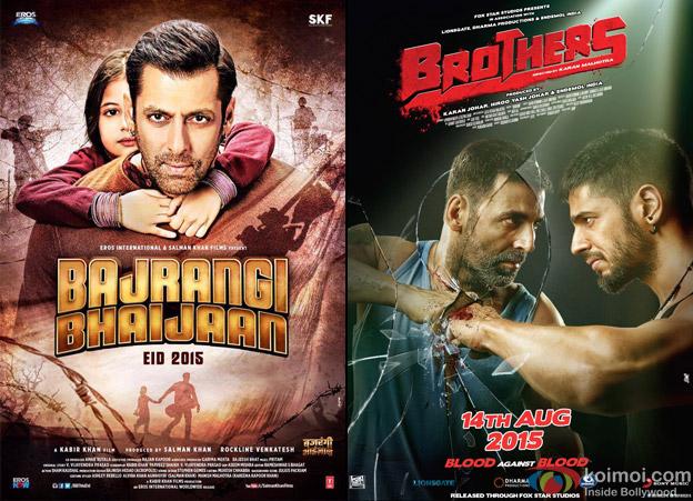 Bajrangi Bhaijaan and Brothers Movie Poster
