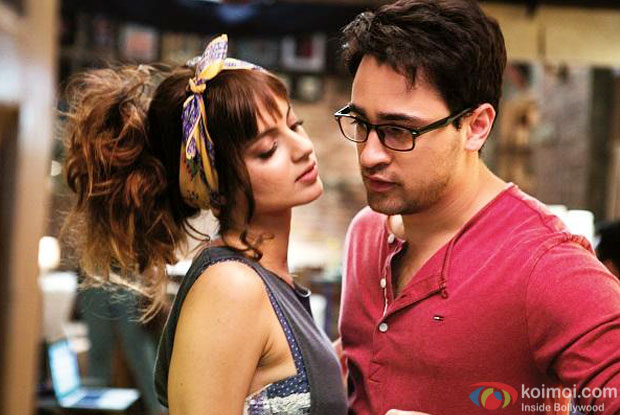 Kangna Ranaut and Imran Khan in a still from movie 'Katti Batti'