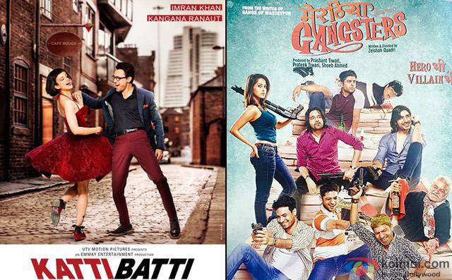 Katti Batti and Meeruthiya Gangsters Movie Poster