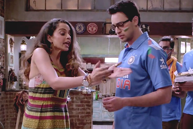 Kangana Ranut and Imran Khan in a still from Katti batti
