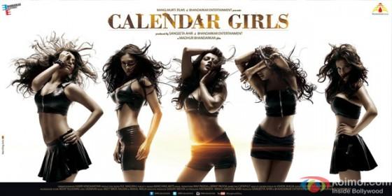 Satarupa Pyne, Avani Modi, Kyra Dutt, Akanksha Puri and Ruhi Singh starrer Calendar Girls Movie Poster 3