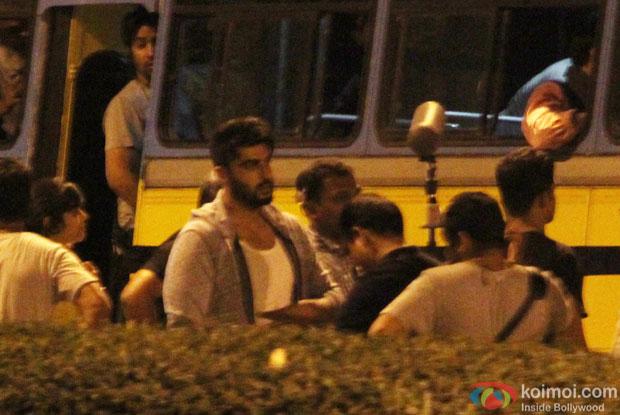 Arjun Kapoor during the Shooting