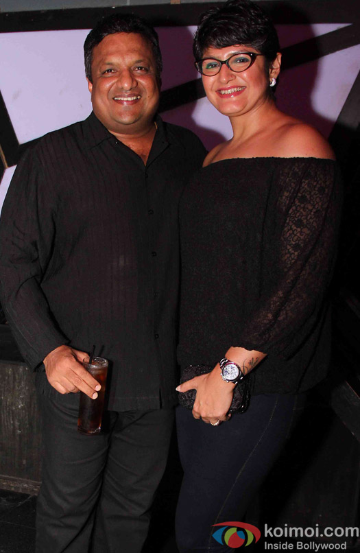 Sanjay Gupta during the wrap up Party of Jazbaa