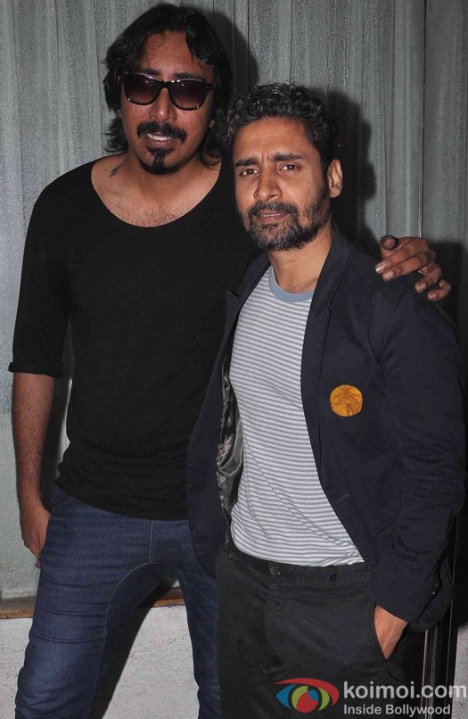 Chandan Roy Sanyal during the wrap up Party of Jazbaa