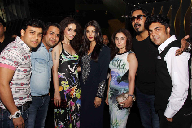 A pic from the wrap up party of Jazbaa