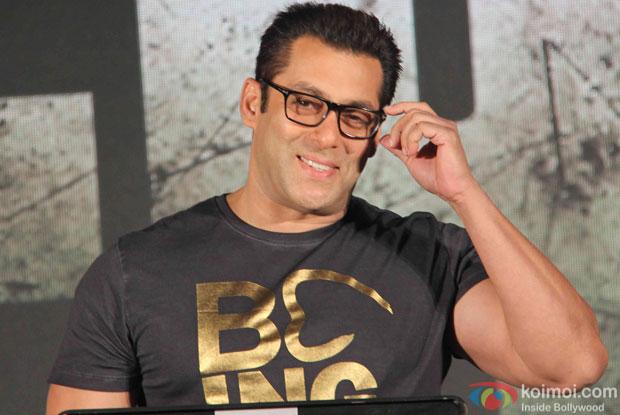 Salman Khan During The Hero Music Concert