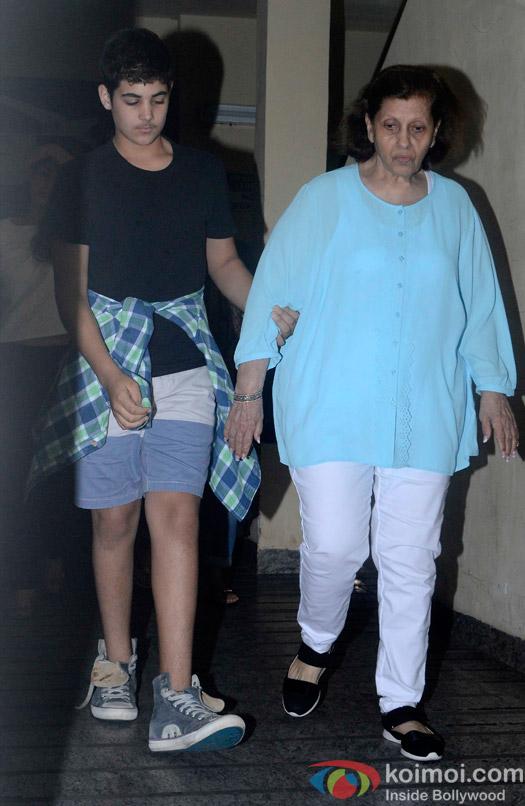 Aarav Kumar Spotted At PVR