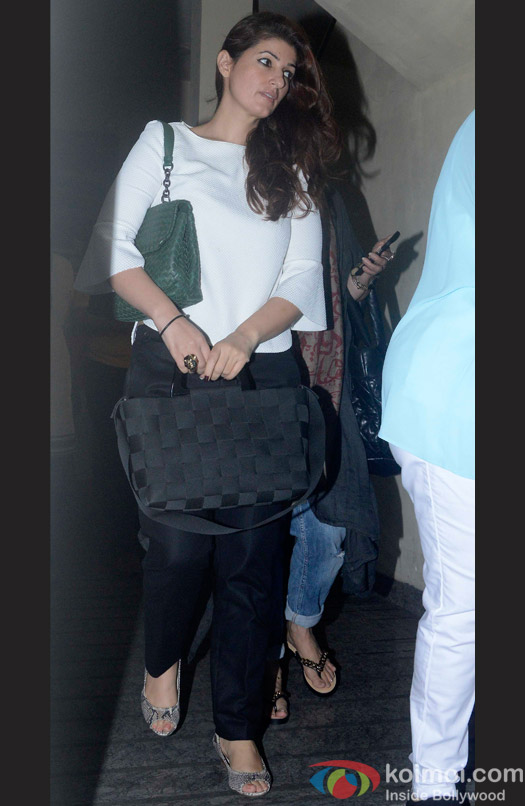 Twinkle Khanna Spotted At PVR