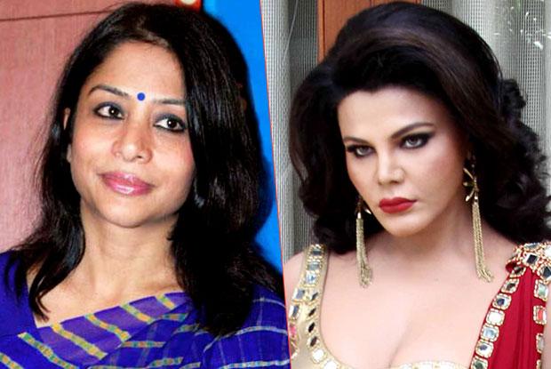 Indrani Mukherjea and Rakhi Sawant