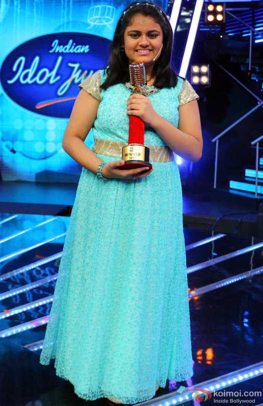Ananya Sritam Nanda wins the Indian Idol Junior Grand Finale