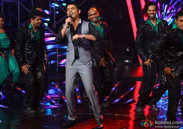 Kapil Sharma during the Indian Idol Junior Grand Finale