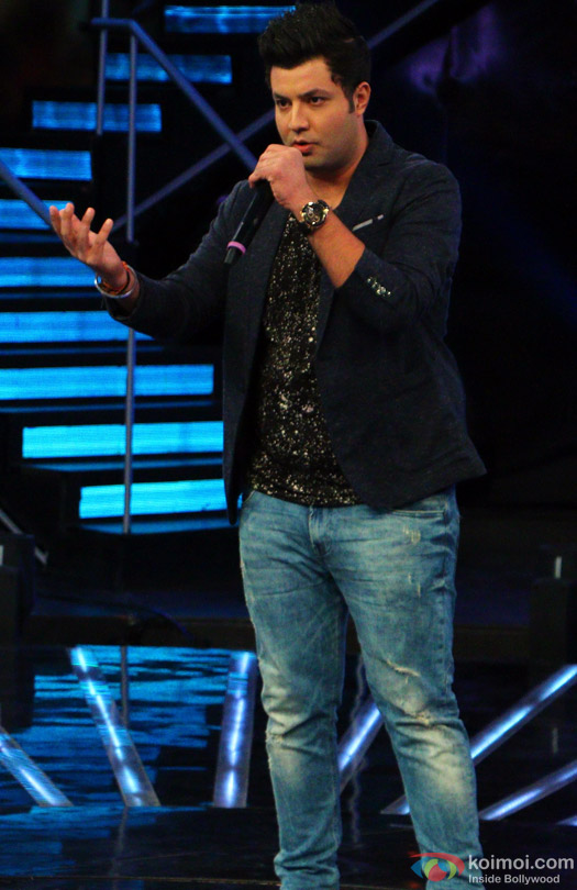 Varun Sharma during the Indian Idol Junior Grand Finale