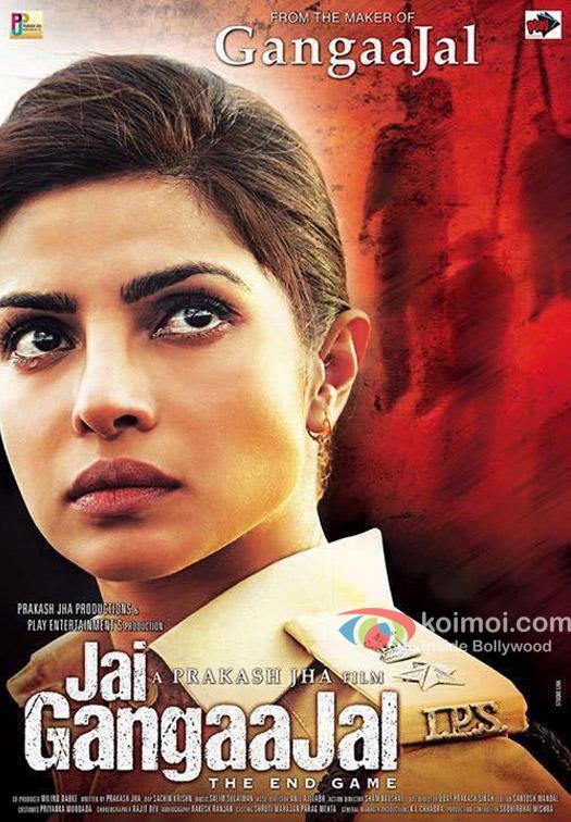 Priyanka Chopra in still from 'Jai Gngaajal' movie poster