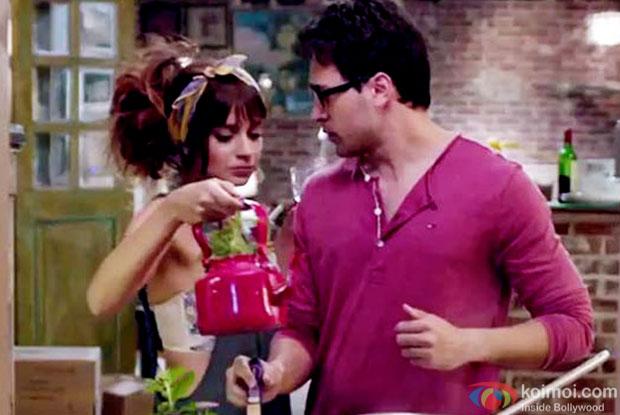 Kangana Ranaut and Imran Khan in a still from movie 'Katti Batti'