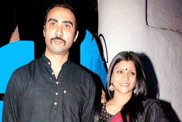 Ranvir Shorey And Konkona Sen