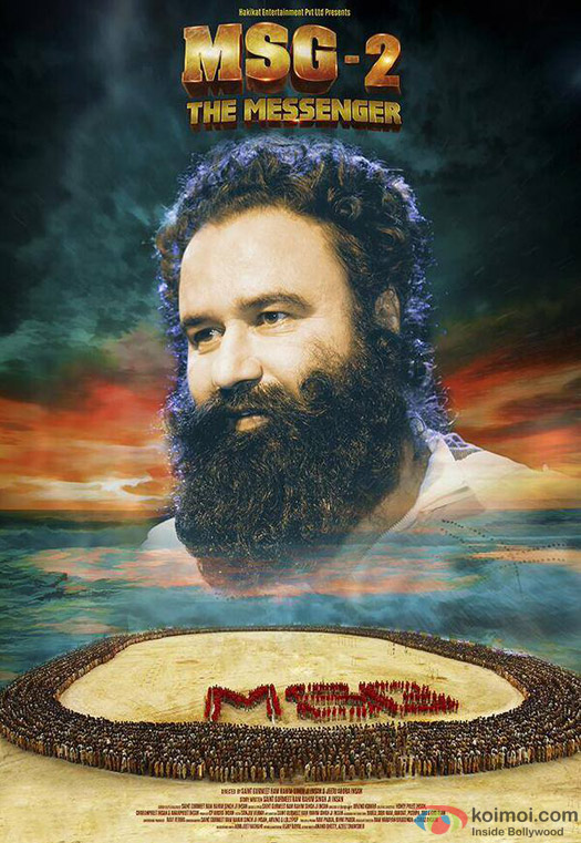 Saint Gurmeet Ram Rahim Singh Ji Insan starrer 'MSG-2 The Messenger' Movie Poster 3
