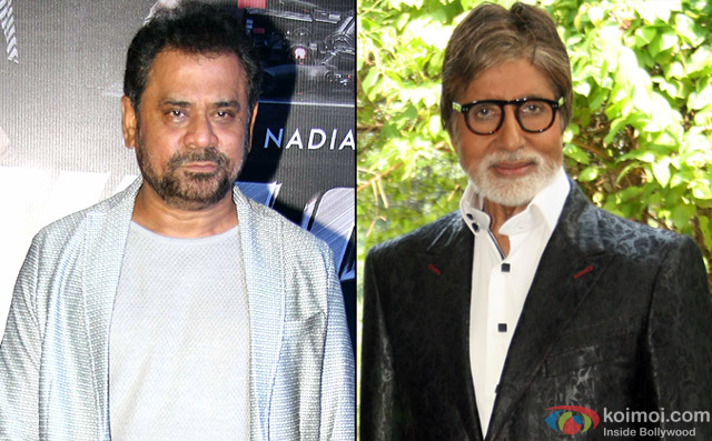 Anees Bazmee and Amitabh Bachchan