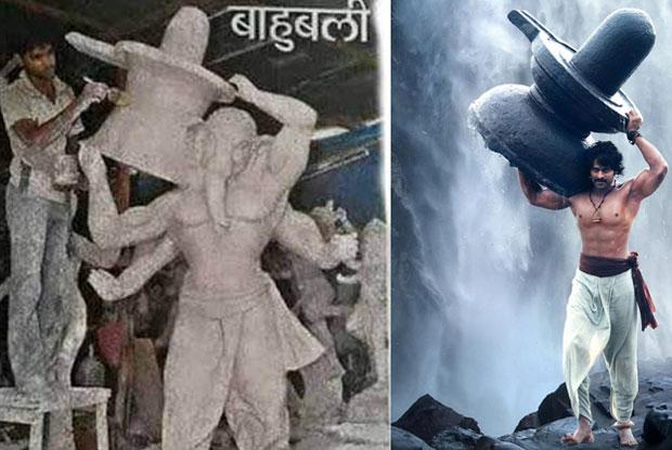 Prabhas' 'Baahubali' pose inspires Ganesha idols
