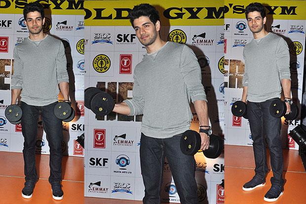 Sooraj Pancholi during the promotion of movie heroro