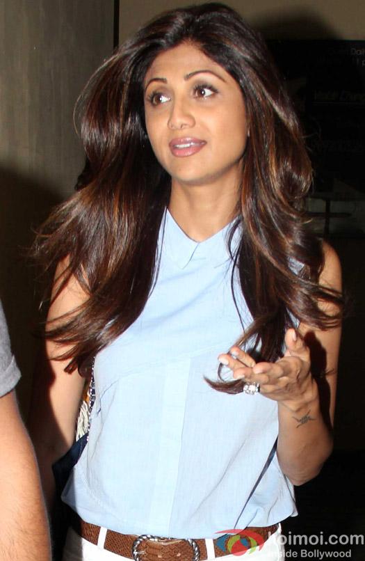 Shilpa Shetty Spotted At PVR
