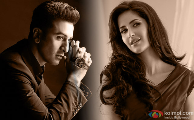 Ranbir​ Kapoor and Katrina​ Kaif​
