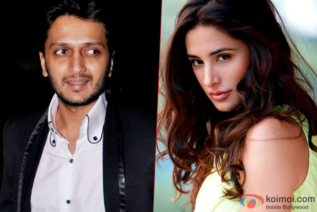 Riteish Deshmukh and Nargis Fakri