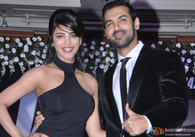 Shruti Hassan and John Abraham