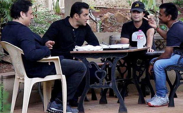 Govinda, Salman Khan and A.R. Murugadoss