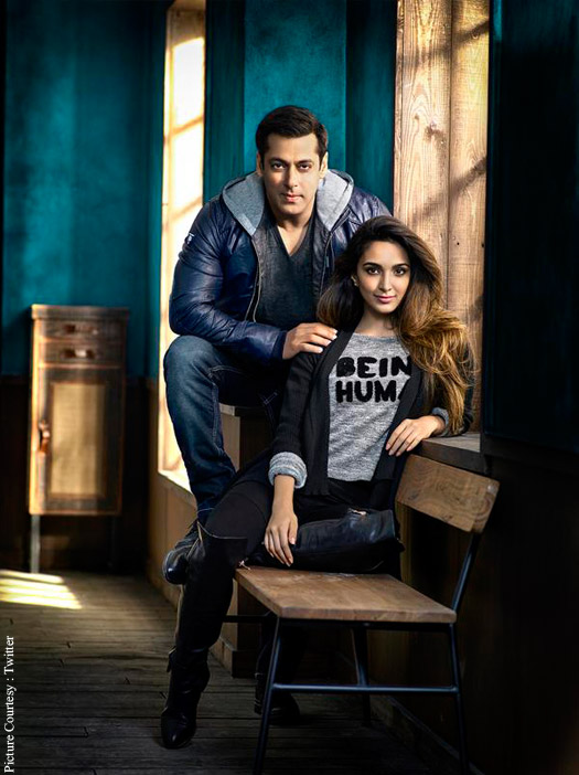 Salman Khan and Kiara Advani Introduce Being Human's Autum/Winter 2015 Collection