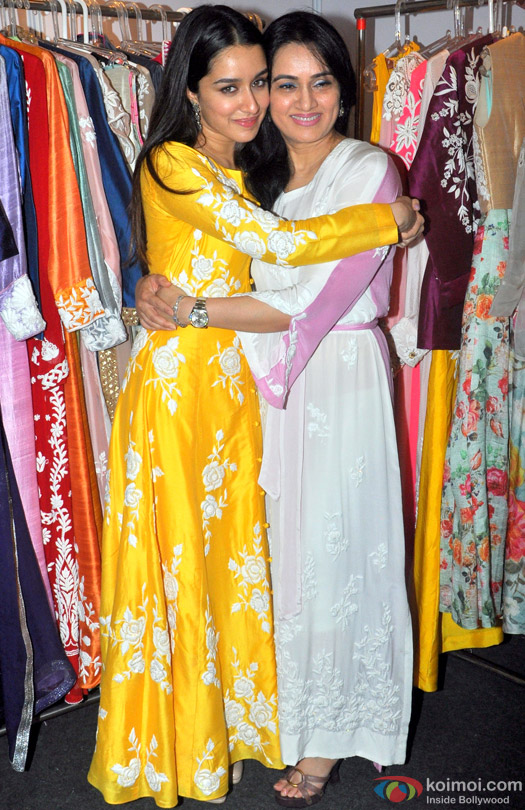 Shraddha Kapoor and Padmini Kolhapure during the Inauguration of IMC Ladies Wing Exhibition