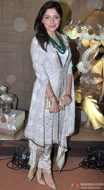 Kanika Kapoor during the Inauguration of IMC Ladies Wing Exhibition