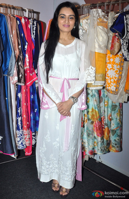 Padmini Kolhapure during the Inauguration of IMC Ladies Wing Exhibition