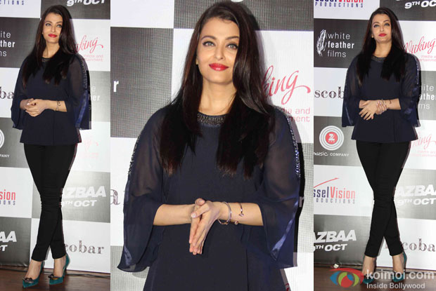 Aishwarya Rai Bachchan during the Song launch of movie Jazba