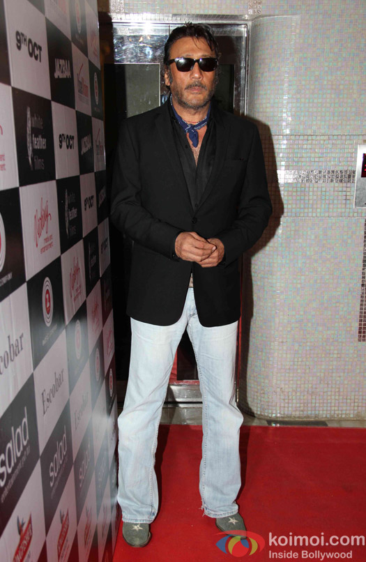 jackie Shroff during the Song launch of movie Jazba
