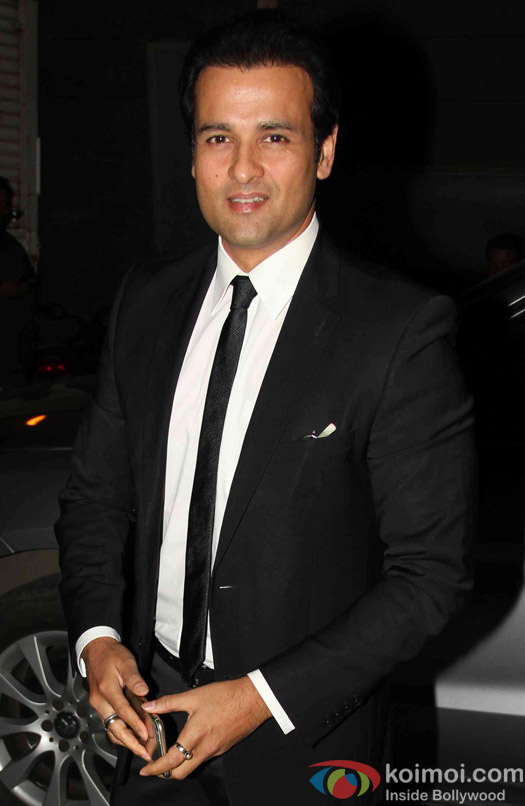 Rohit Roy during the song launch of movie Jazba