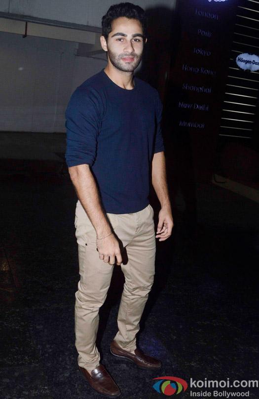 Armaan Jain during the special screening of hero