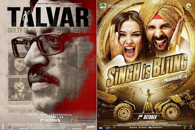 Talvar and Singh Is Bliing movie posters