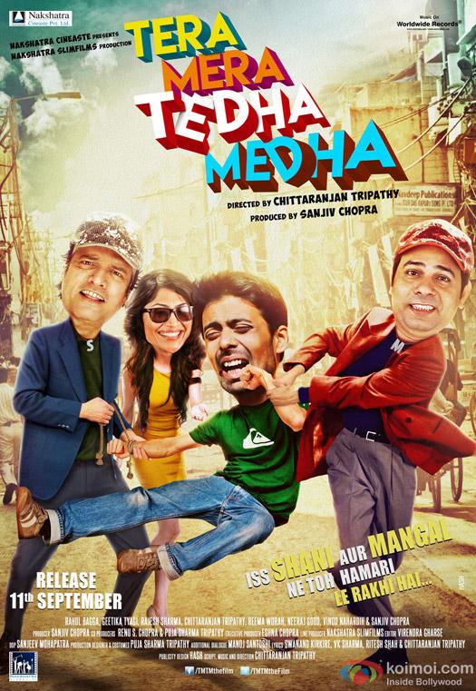 Tera Mera Tedha Medha Movie Poster 1